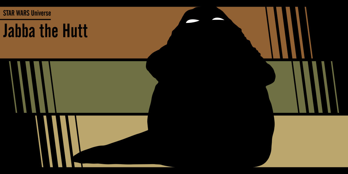 Fan art Star Wars: Jabba the Hutt