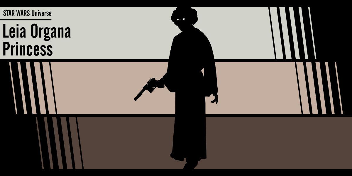 Fan art Star Wars: Leia Organa Princess