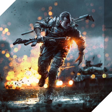Badge - Giochi - Battlefield 4