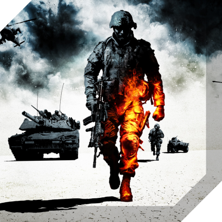 Badge - Giochi - Battlefield Bad Company 2