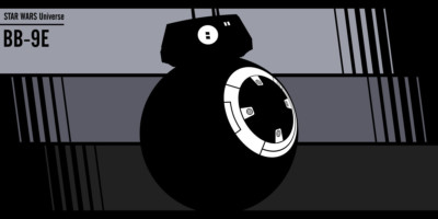 Fan art Star Wars: BB-9E
