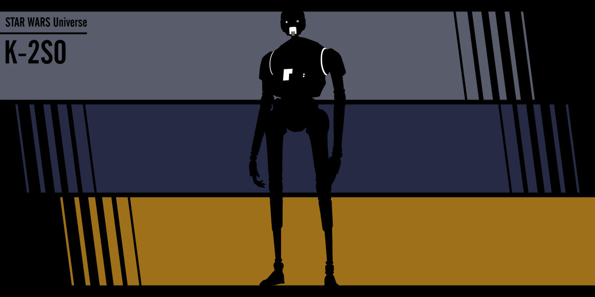 Fan art Star Wars: K-2SO