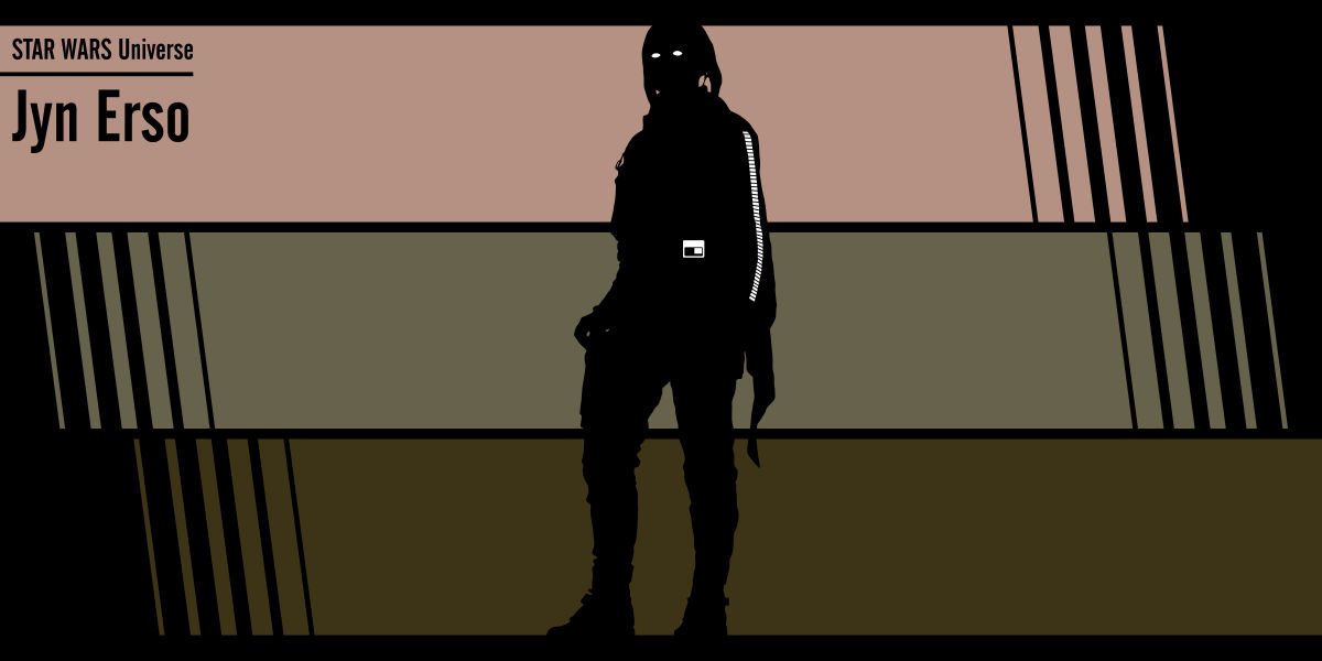 Fan art Star Wars: Jyn Erso