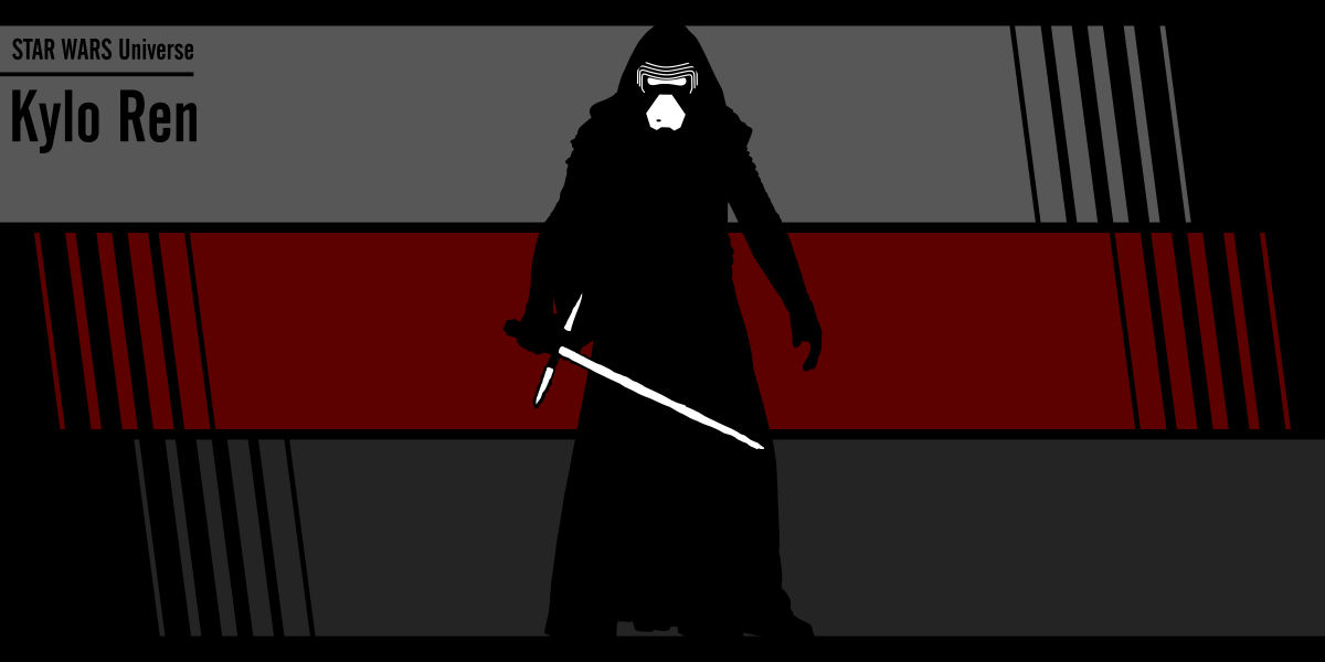 Fan art Star Wars: Kylo Ren