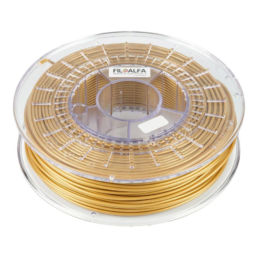 Stampa 3D - Filoalfa PLA - Metallici - Oro